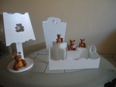 Kit de bebê - Ursinho