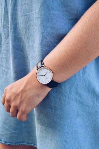 horloge: Daniel Wellington