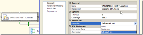 "SSIS - ""Full result set"" to a set variable of Object (6/6)"