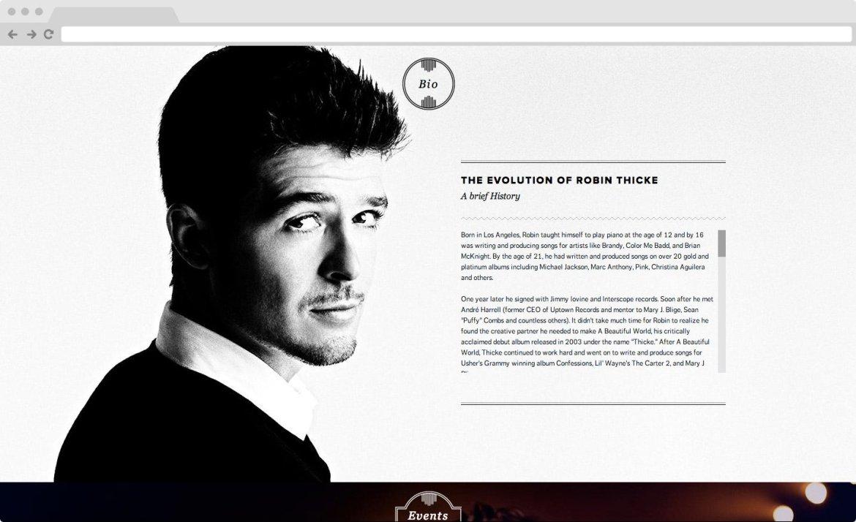 Robin Thicke - News