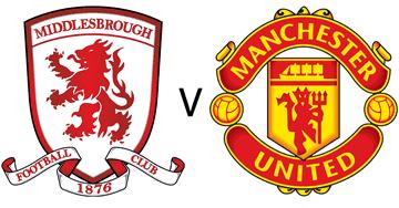 Middlesbrough U23 v Manchester UnitedU23 at Heritage Park this Sunday 1pm Kick Off