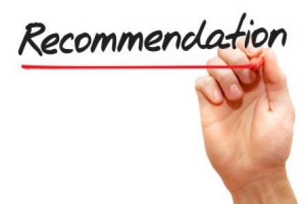 Reccommendation Of Favour