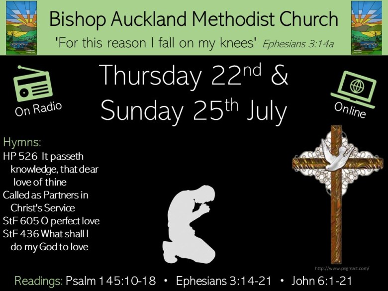 Click here to go to materials on Sunday 25th July