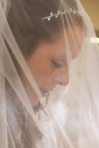 close up bride wedding photograpy