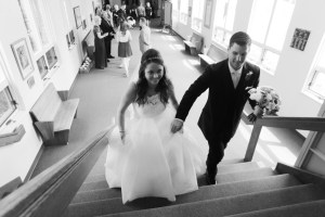black and white wedding photos Bruce Bishop Photography