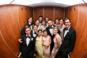 fun group shot wedding photography Elyria Ohio