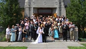 group wedding photos