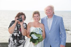 fun wedding photos Bishop Photography
