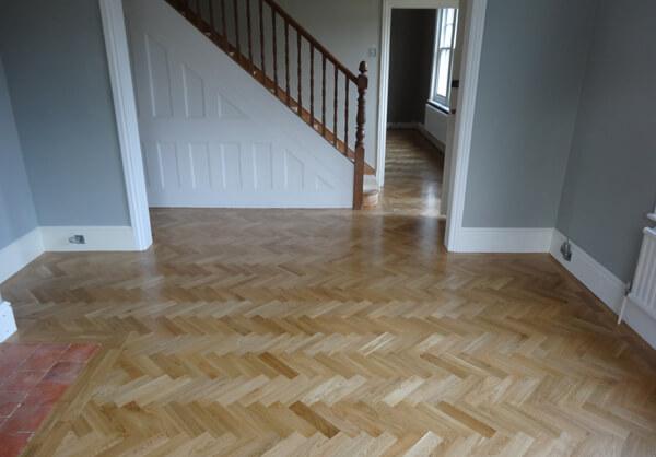 Parquet Flooring (Otherwise known as Herringbone Flooring)