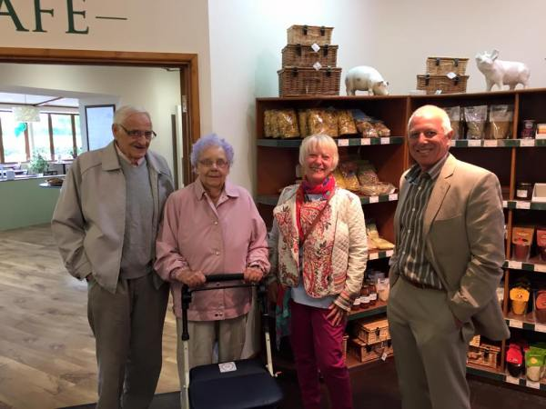 Joan Beale is the first official customer, what a great way to celebrate her 87th birthday. Happy Birthday Joan :)