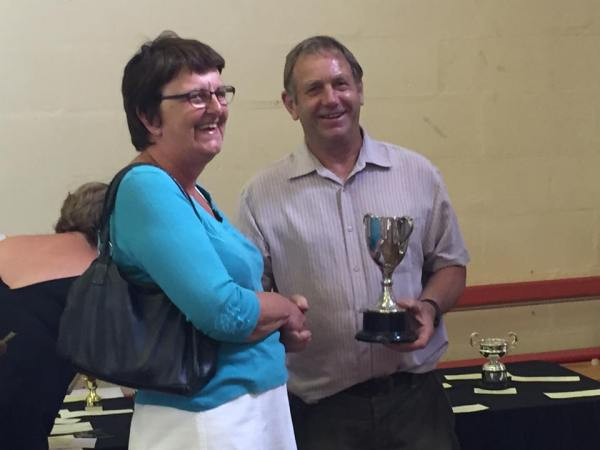 Robins Close Cup for Most prize cards in Homecraft Section – Karen Dudley