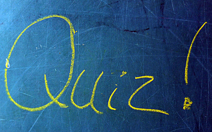 6 May: Valley Quiz Night