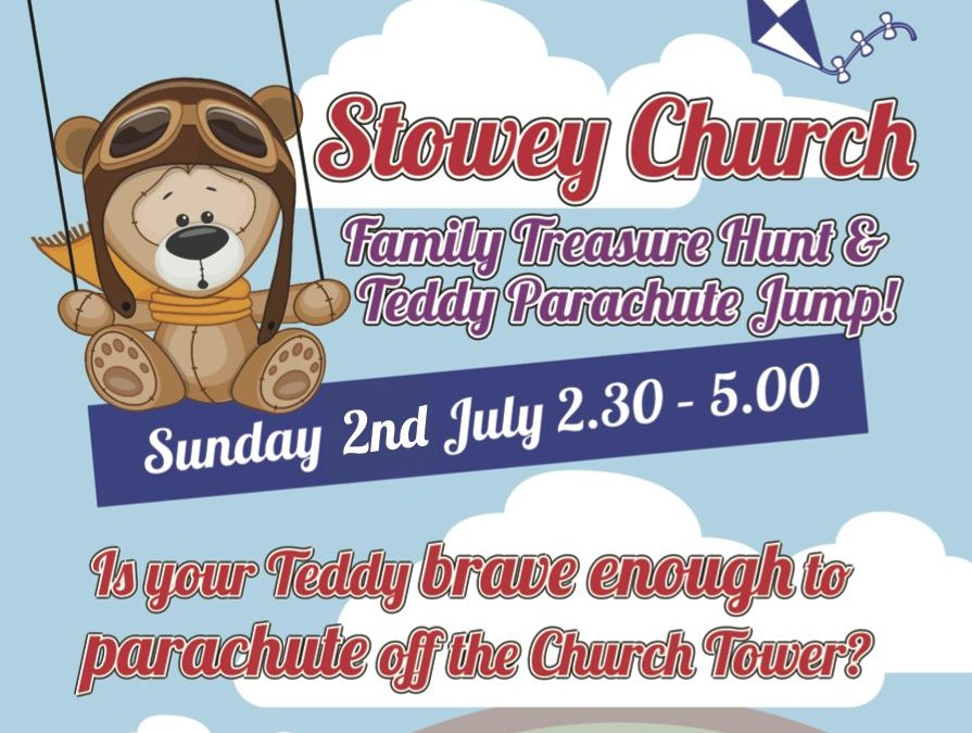2 July : Teddy Bear Parachute Jump!