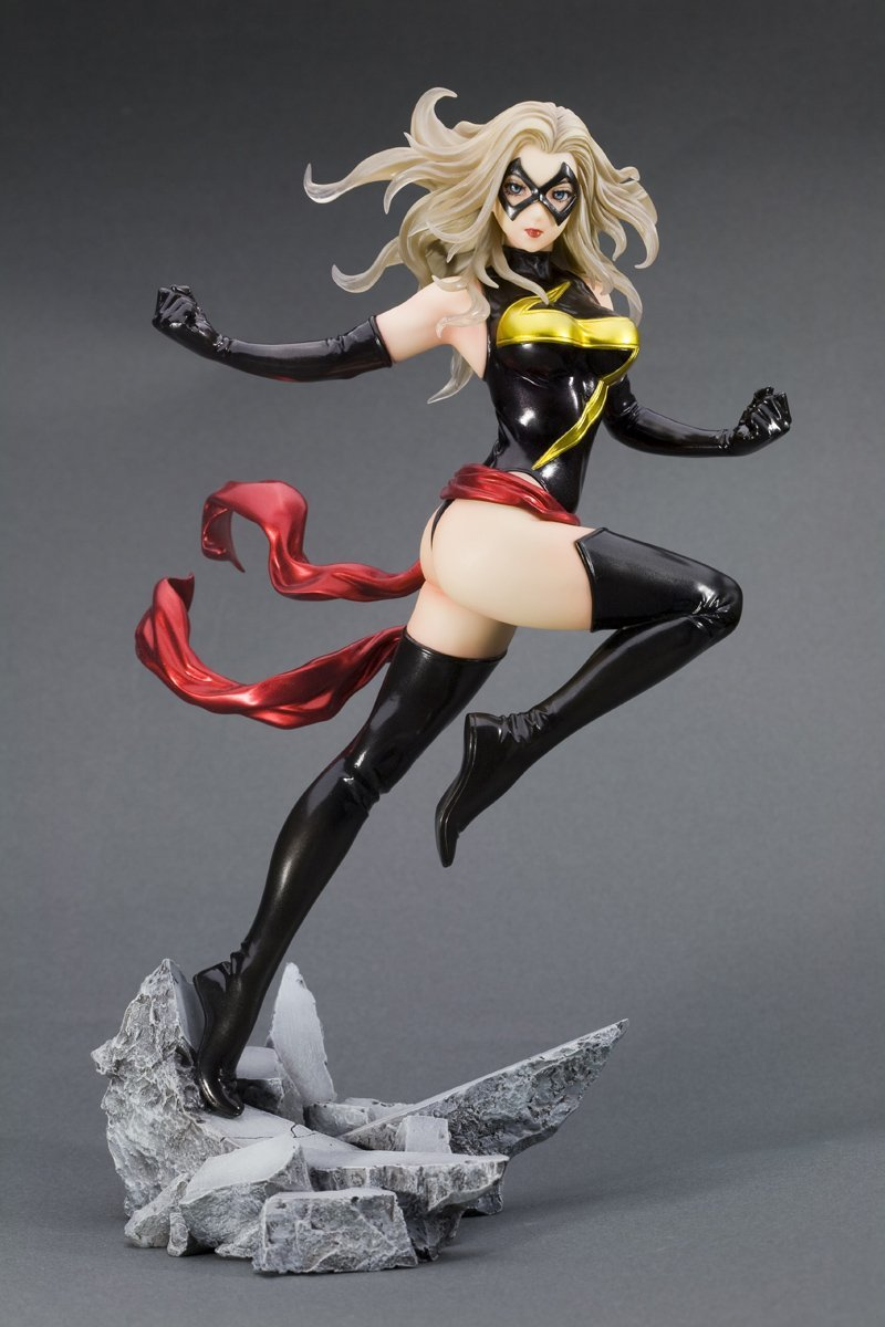 marvel-comics-ms-marvel-bishoujo-statue