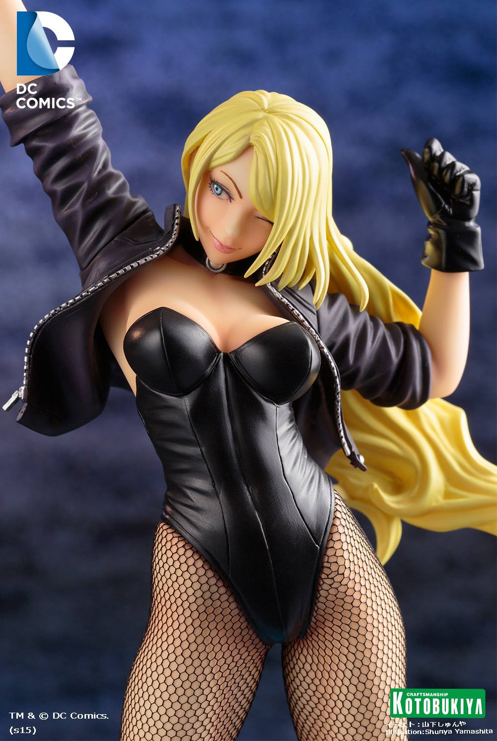 black-canary-bishoujo-statue-dc-comics-kotobukiya-6