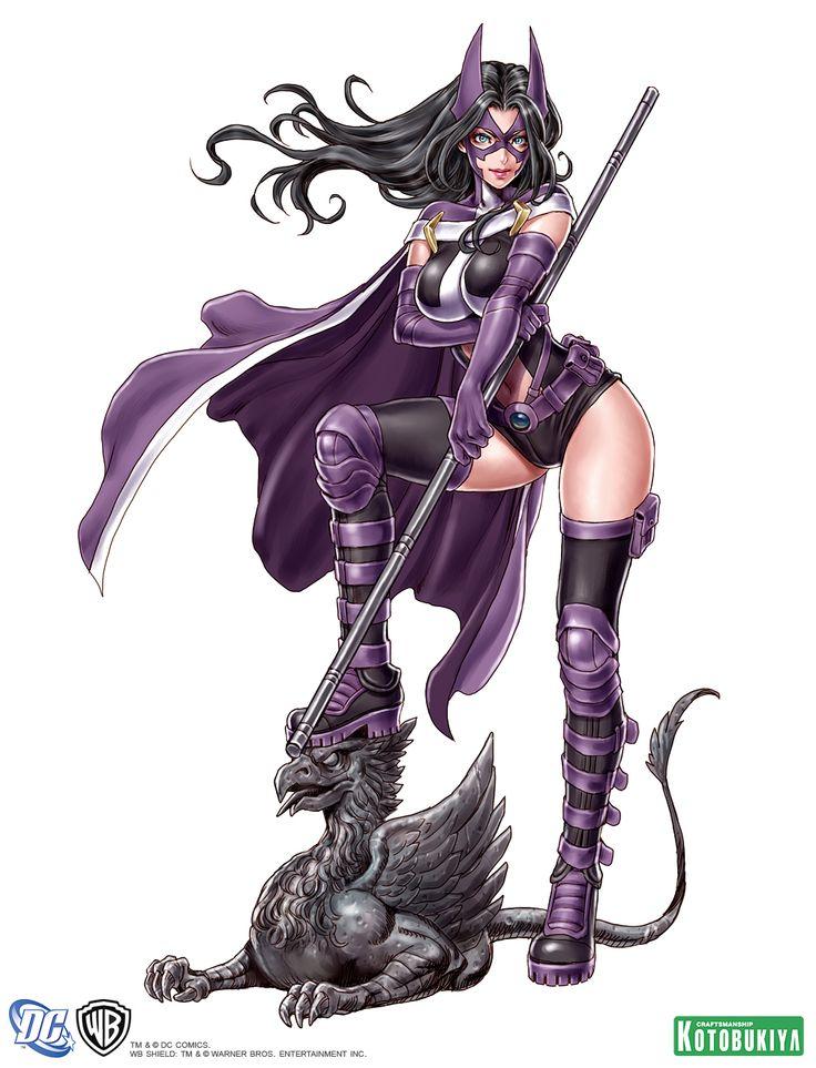 huntress-bishoujo-statue-illustration-dc-comics-kotobukiya-Shunya-Yamashita