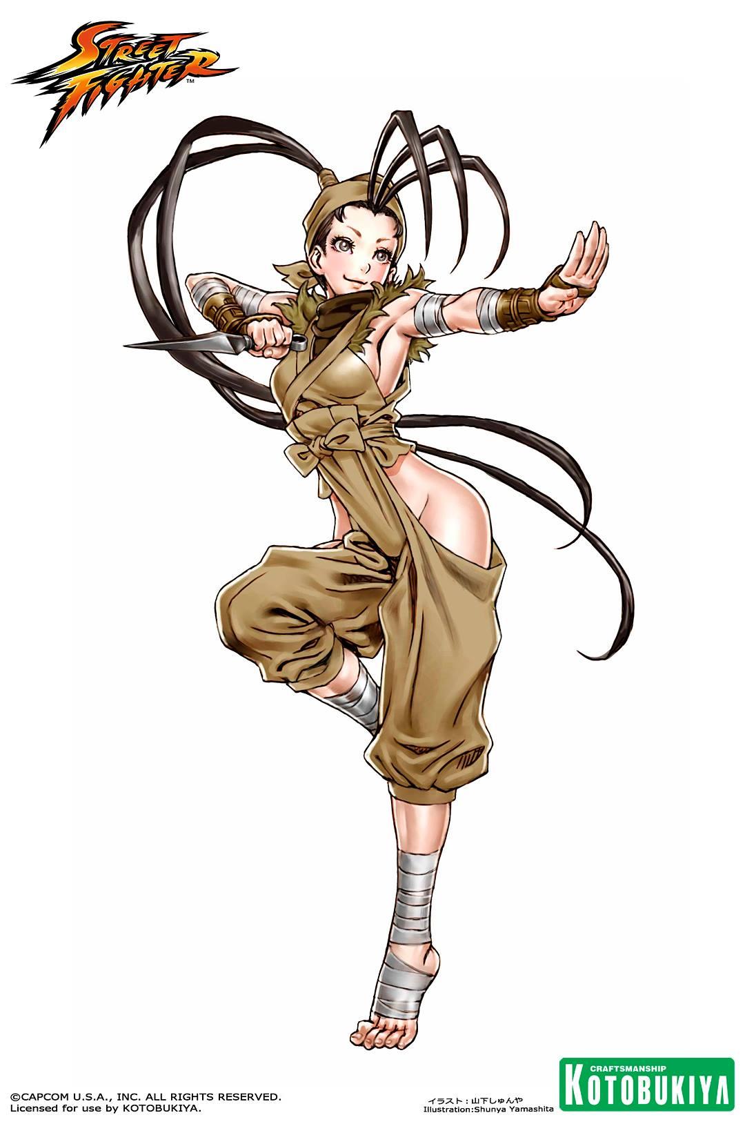 ibuki-bishoujo-statue-illustration-street-fighter-kotobukiya-Shunya-Yamashita