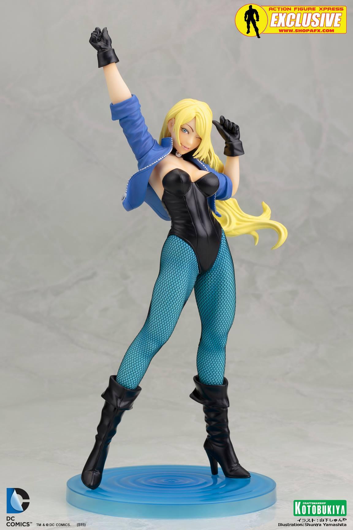 black-canary-classic-costume-bishoujo-statue-exclusive-dc-comics-kotobukiya-1