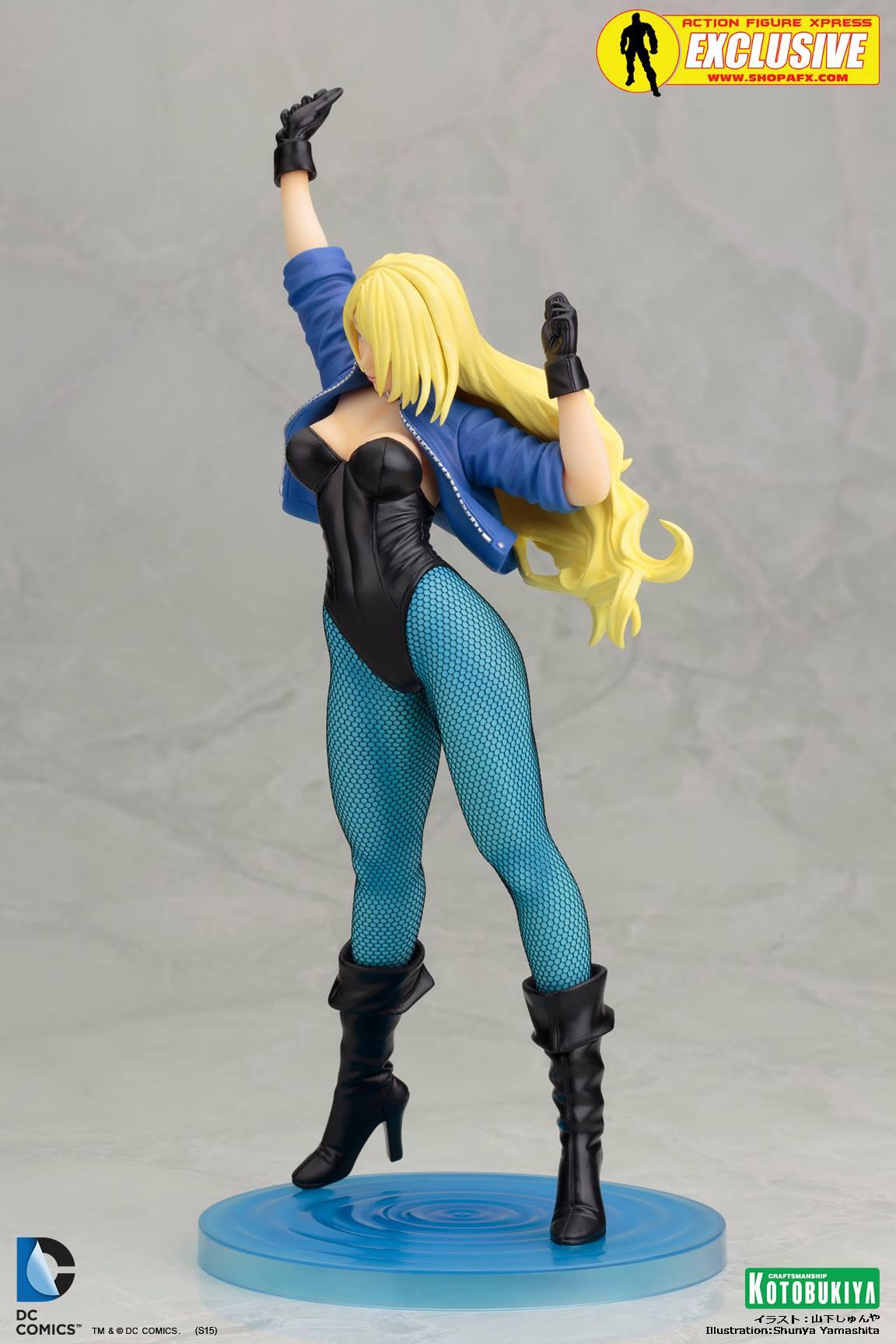 black-canary-classic-costume-bishoujo-statue-exclusive-dc-comics-kotobukiya-3