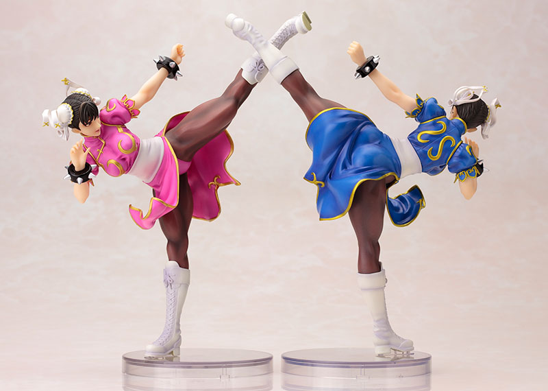 street-fighter-chun-li-pink-outfit-limited-version-bishoujo-statue-kotobukiya-7