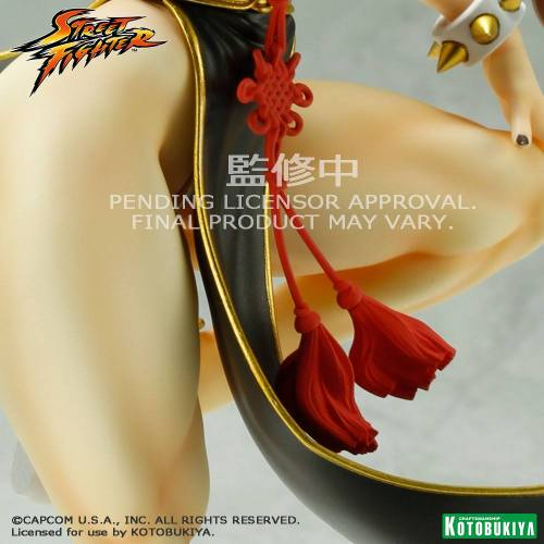 Street Fighter Chun Li Battle Costume Bishoujo Statue Sneak Peek Kotobukiya