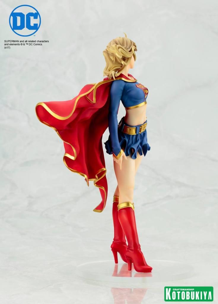 DC Comics Supergirl Returns Bishoujo Statue Kotobukiya