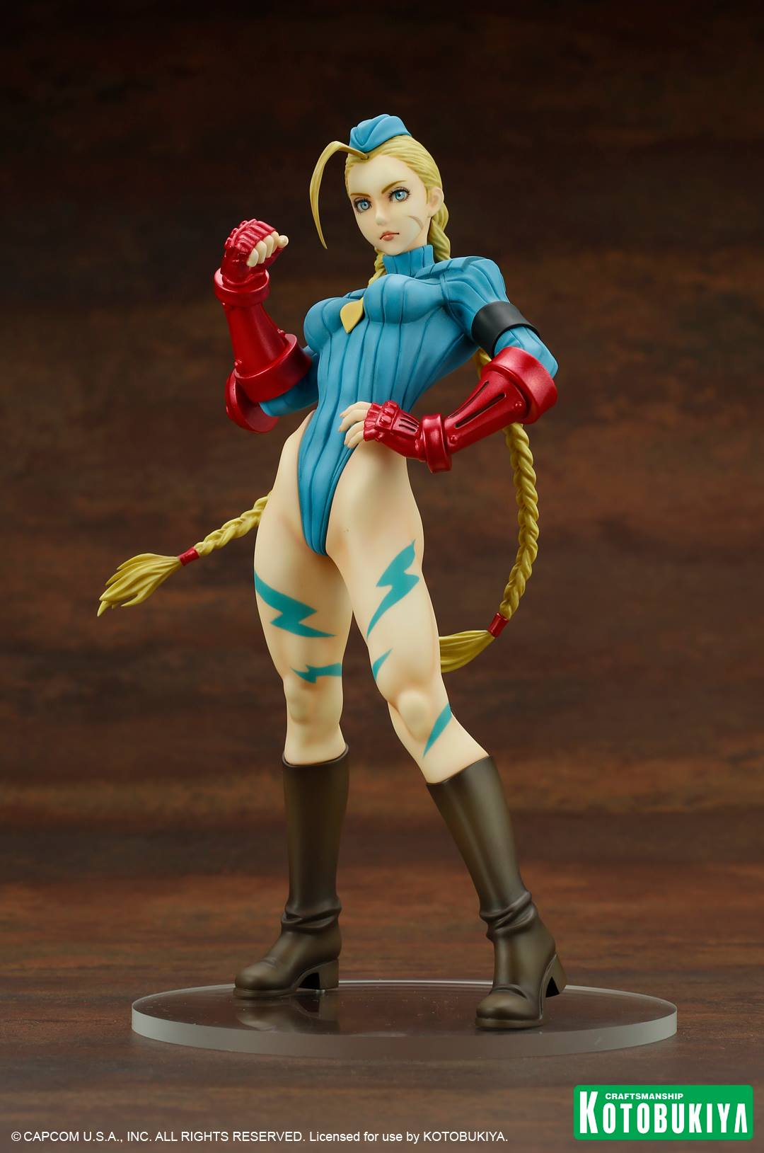 Street Fighter Cammy Alpha Costume Bishoujo Statue Kotobukiya