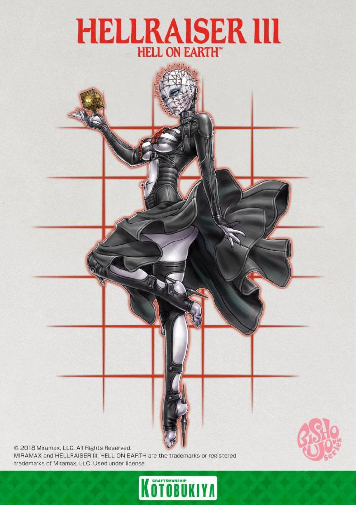 Hellraiser 3 Hell on Earth Pinhead Bishoujo Statue Kotobukiya Illustration Shunya Yamashita