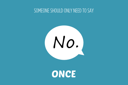Bish guide to no someone should only need to say no once