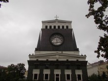 The church of the most sacred heart of our Lord by Plečnik in Prague.