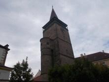 A gate tower in Turnov.