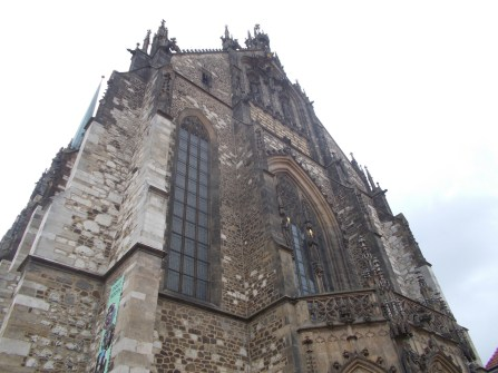 Cathedral of St. Peter and Paul in Brno.