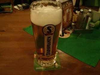 Staropramen for less than 1€.