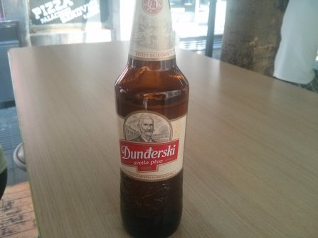 New beer: Dunđerski.