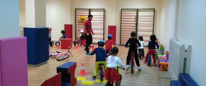 Anaokulu Bisiklet Eğitimleri Devam Ediyor