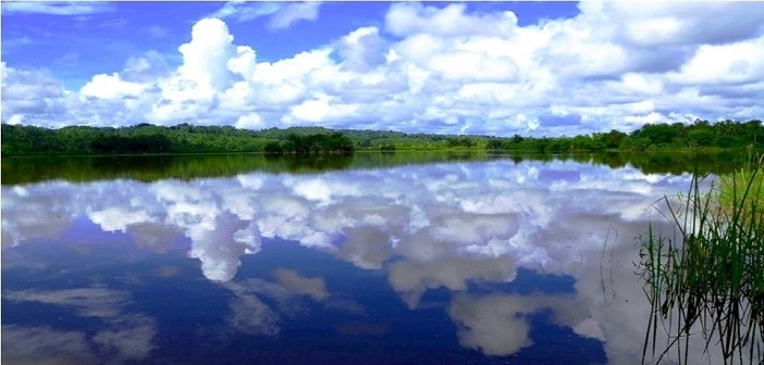 Lake 77 in Bislig City, Philippines
