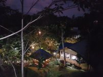 View at night in Dungaw Farm Resort
