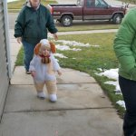 Carter Trick-or-Treating