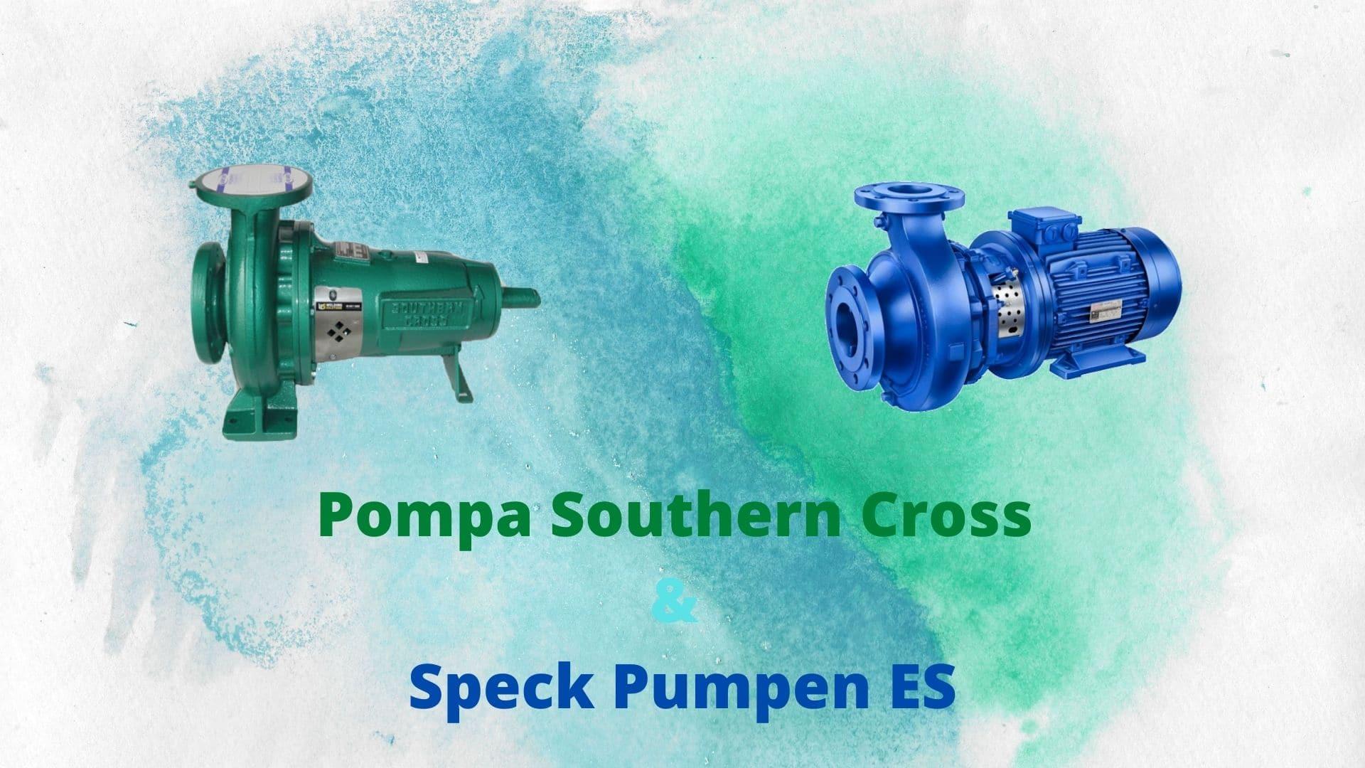 Pompa Southern Cross & Speck Pumpen ES