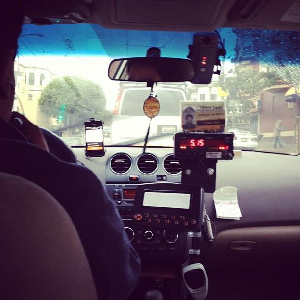 Uber-taxi. (Foto: xdamman, CC BY-NC-ND 2.0)