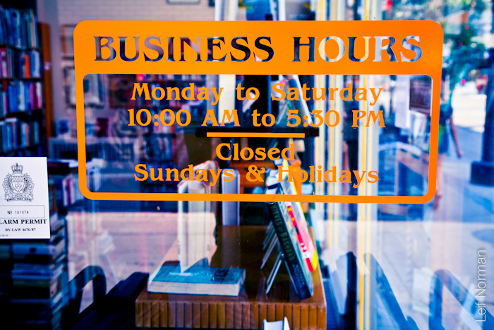 Bison Books Hours