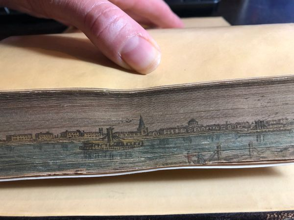 Winnipeg Fore edge painting