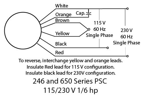 650 Series AC PSC 115/230V
