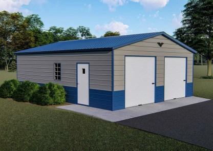 24'W x 30'L Garage/Shop with 9 ft walls