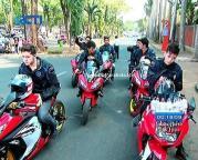 Foto Geng Motor Warrior Anak Jalanan
