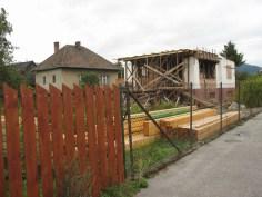 Prestavba rodinného domu, Ružomberok - priebeh výstavby / bistan.sk