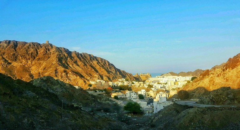 Layover in muscat