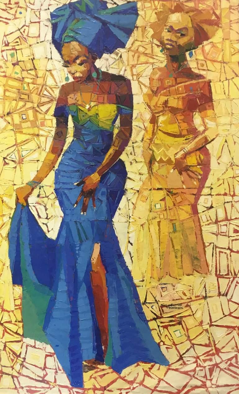 Joyous Celebration - Ufuoma Evuarherhe - Chuck gallery Manchester