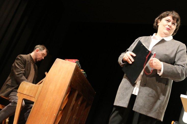 Patti Basler und Philippe Kuhn in Aktion