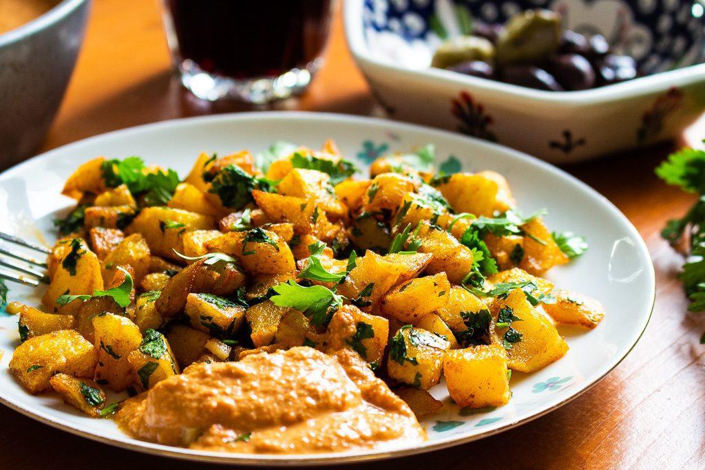 Batata Harra Bratkartoffeln